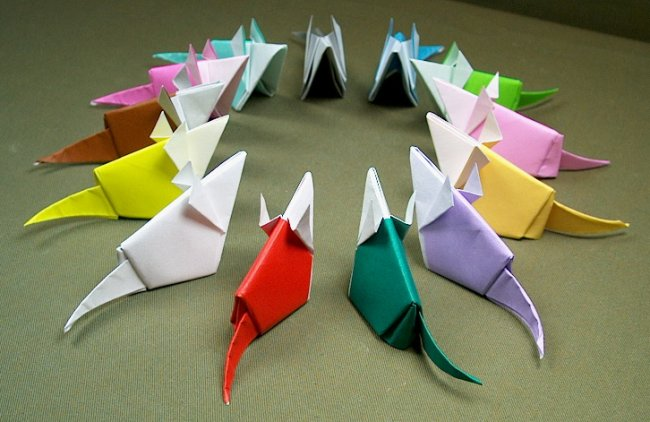Mouses Origami Things