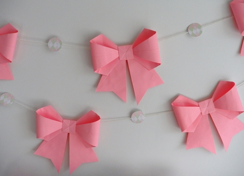 Ribbon Paper Folding Art Origami