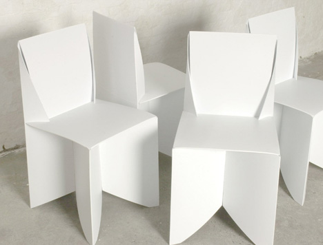 Chairs Paper Folding Designs