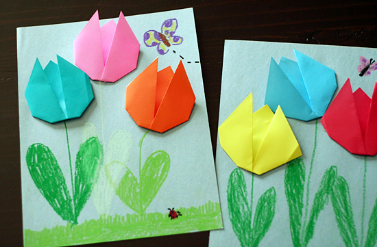 Cute Paper Folding For Kids