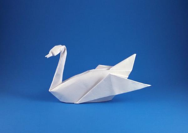 Simple Swan Origami